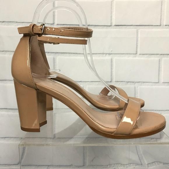 26e507fb9856 Stuart Weitzman Nearlynude Ankle Strap Sandals 6.5.  M 5c47c51abaebf608571f7bfb